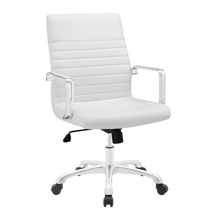 inspire mid back office chair white 1