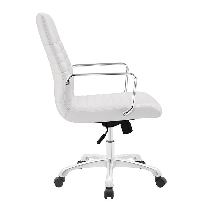 inspire mid back office chair white 2