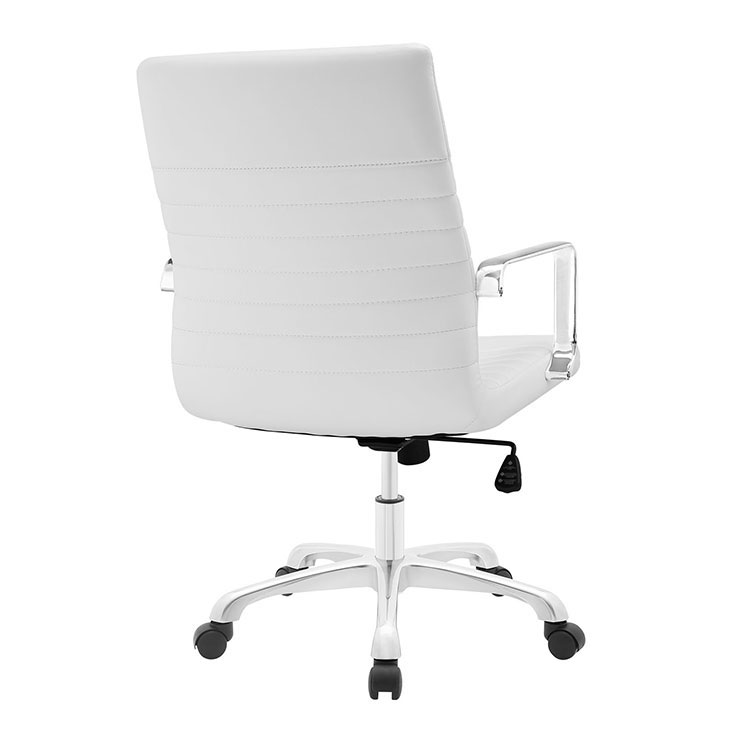 inspire mid back office chair white 3