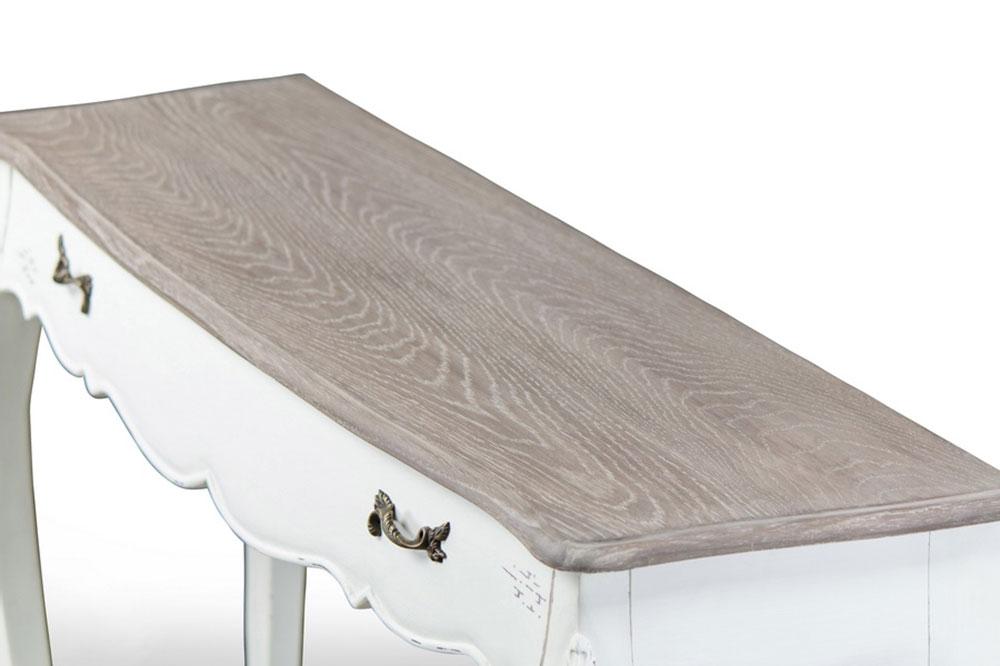 scallop console table 3