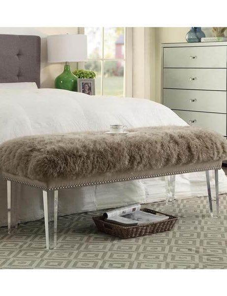 sheepskin puff bench taupe 3 461x600