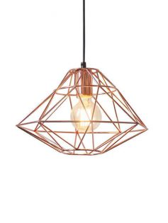 Copper WIre Pendant Light 237x315
