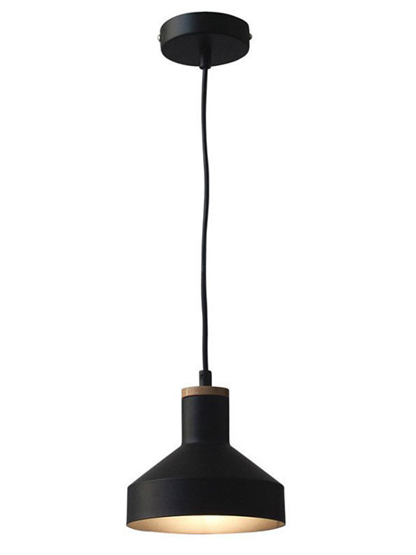 Dover Black Pendant Light