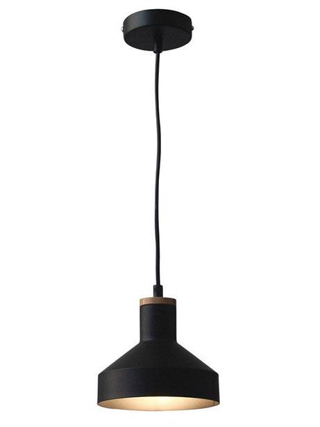 Dover Black Pendant Light