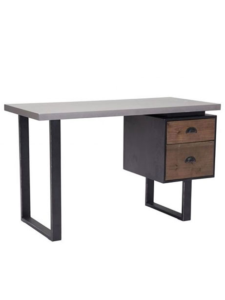 Graystone Wood Desk