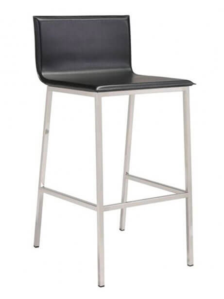 aire barstool black