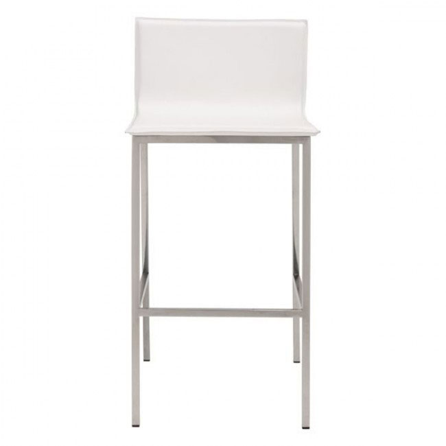 aire barstool white 3
