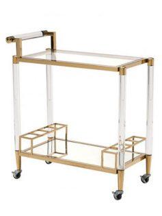 clear acrylic gold bar cart 237x315