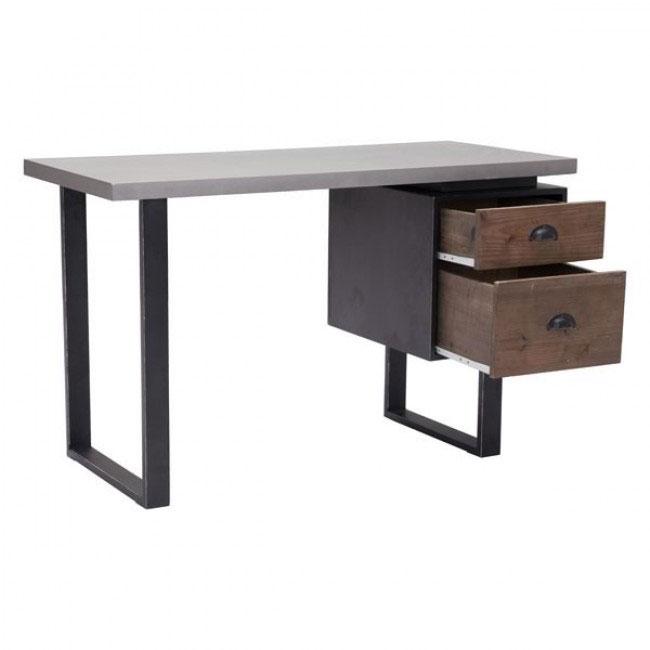 graystone wood desk 4