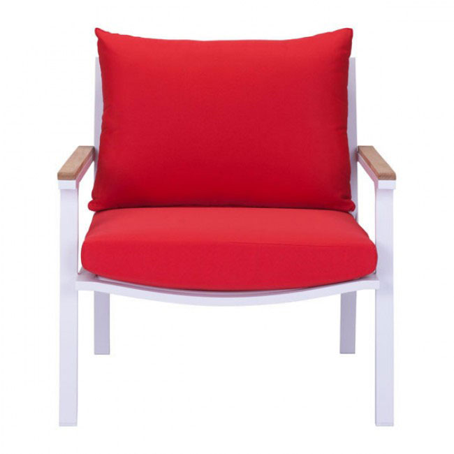 hills outdoor chair red 3