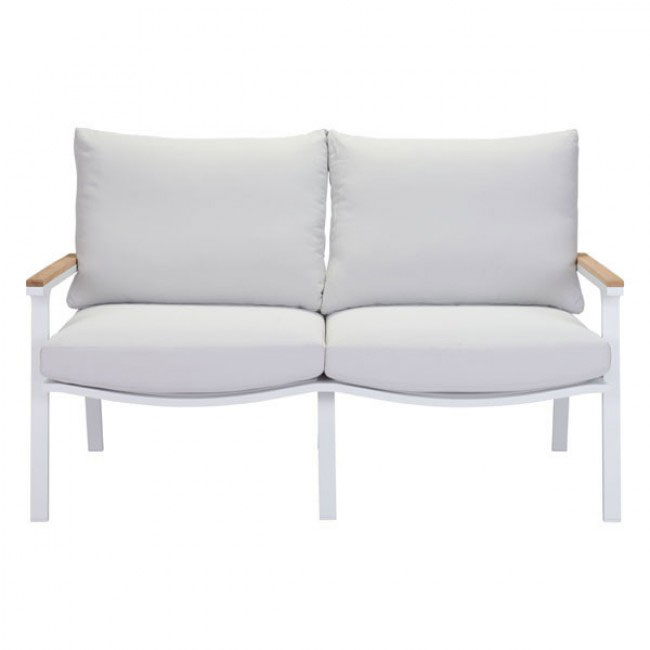 hills outdoor sofa white 2