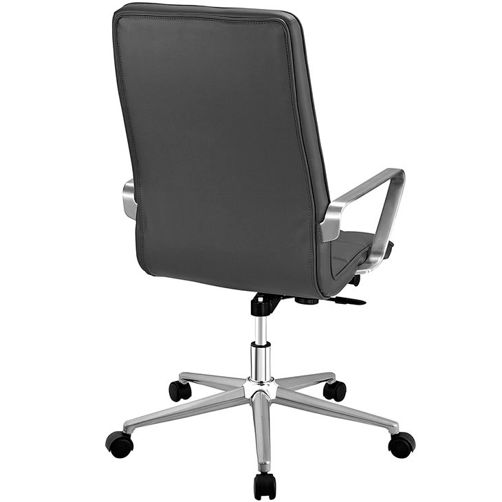 layout high back office chair gray 3
