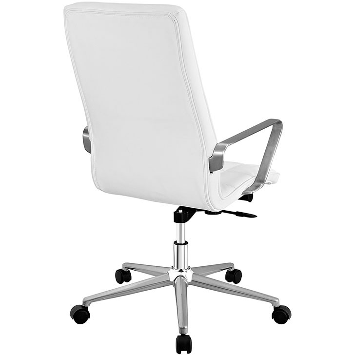 layout high back office chair white 3