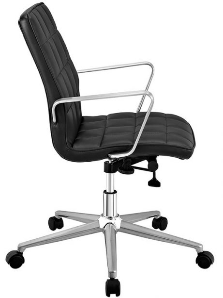 layout mid back office chair black 2 461x614