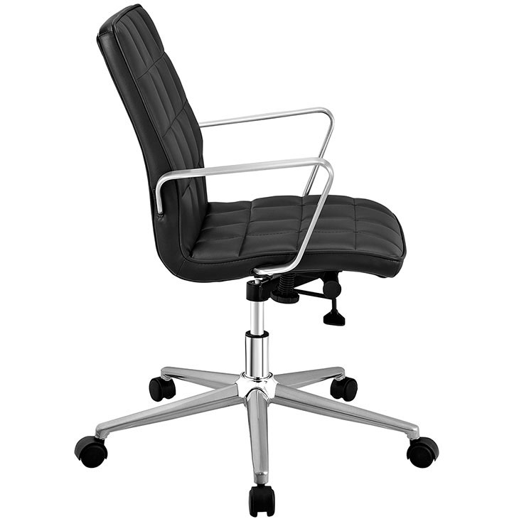 Layout Mid Back Office Chair Black 2