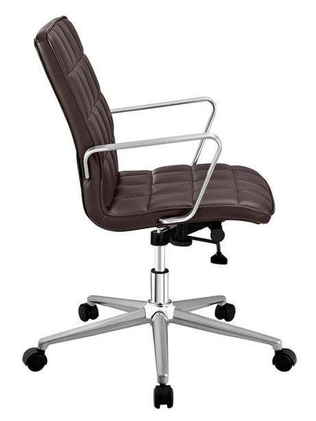 layout mid back office chair brown 1 461x614