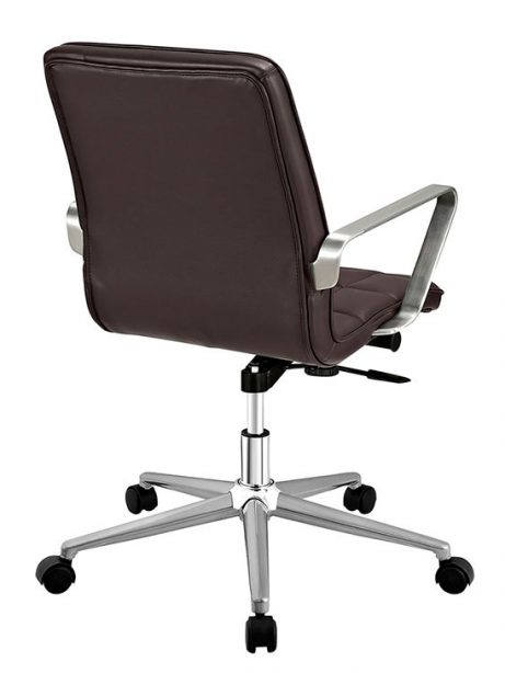 layout mid back office chair brown 2 461x614
