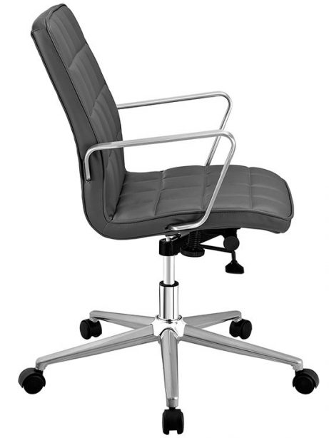 layout mid back office chair gray 2 461x614