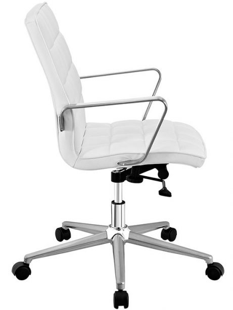 layout mid back office chair white 2 461x614