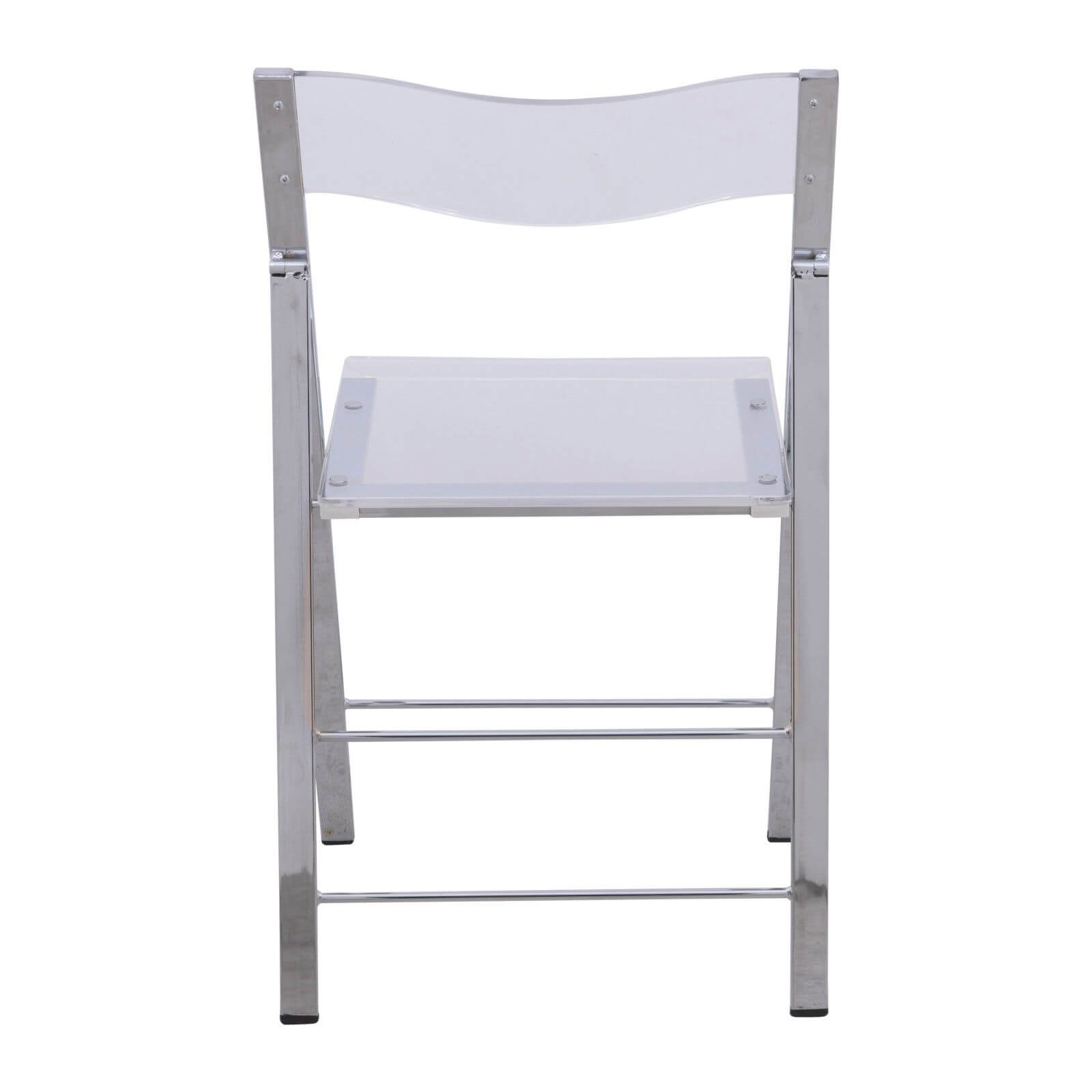 lucid clear folding chair 3