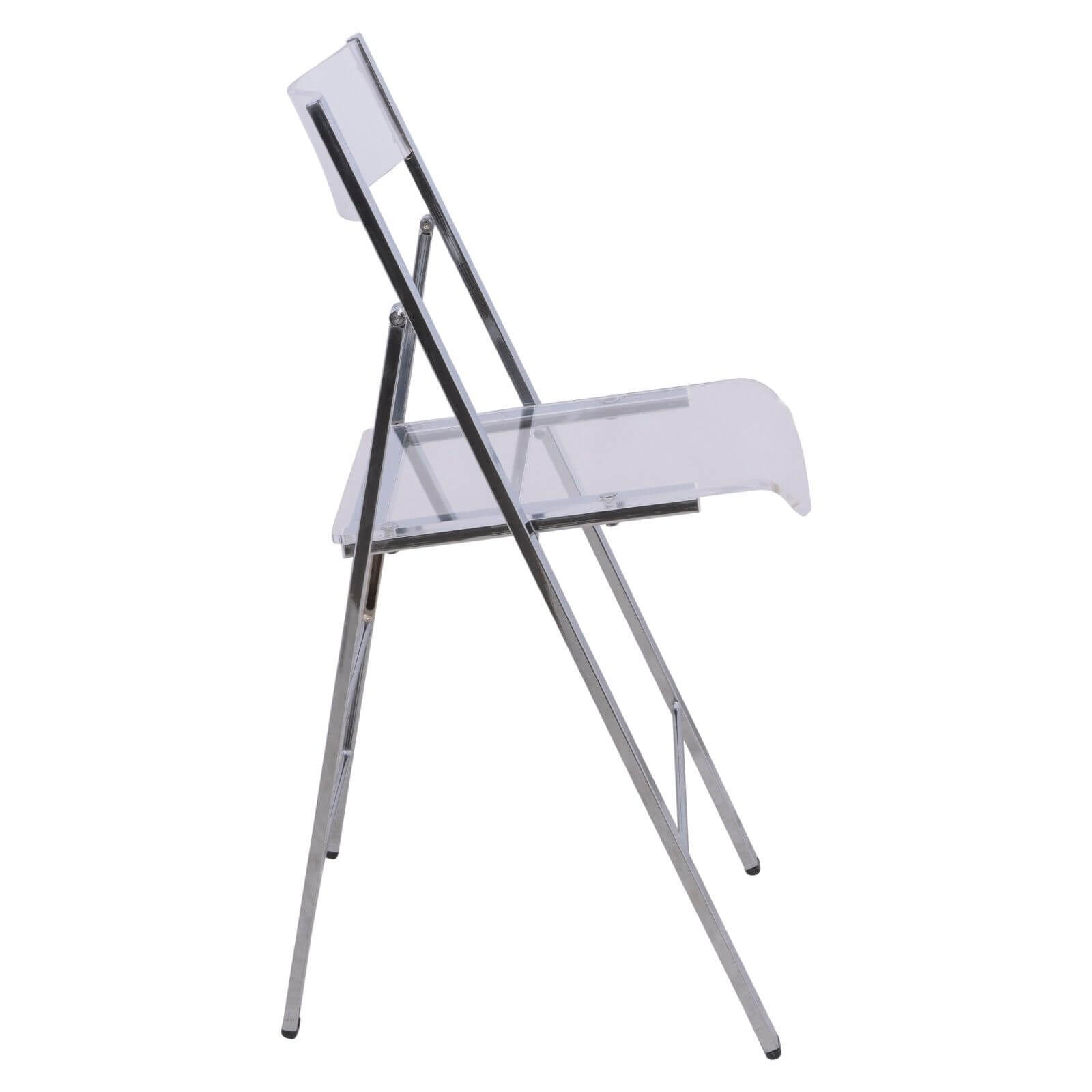 lucid clear folding chair 4