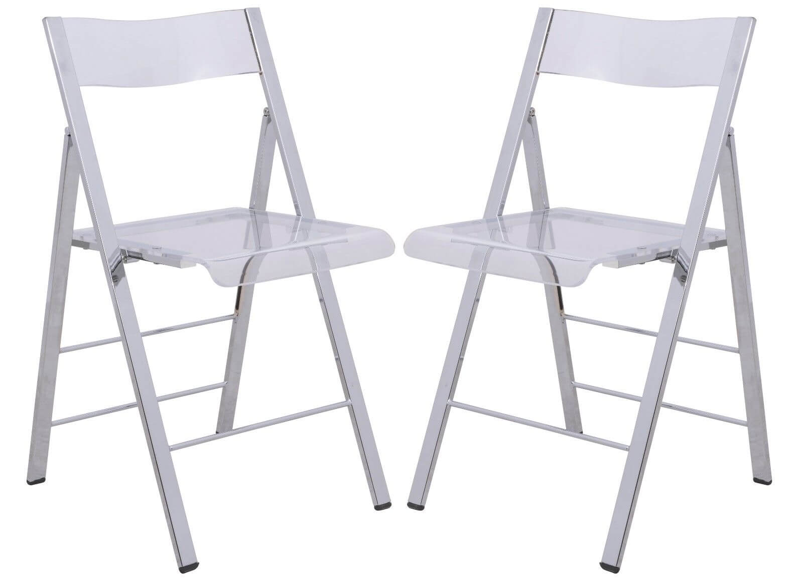 lucid clear folding chair 6