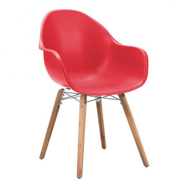moku chair red 1