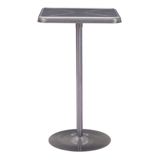 stainless steel wood bar table 1