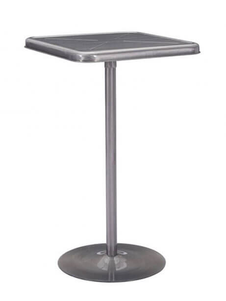 stainless steel wood bar table