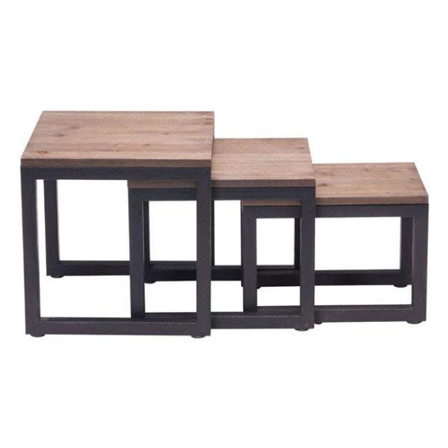 troop wood nesting table set 1