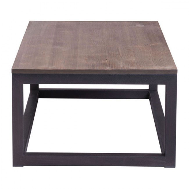 troop wood rectangular coffee table 2