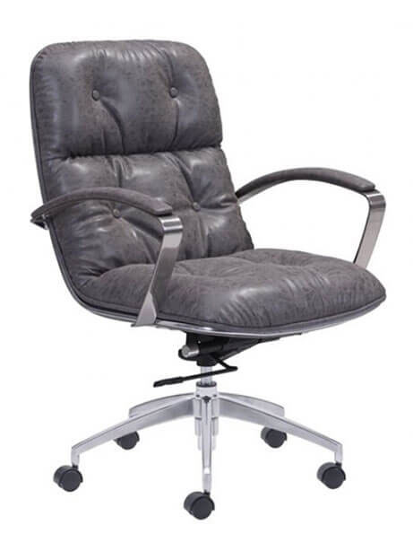 vault office chair gray