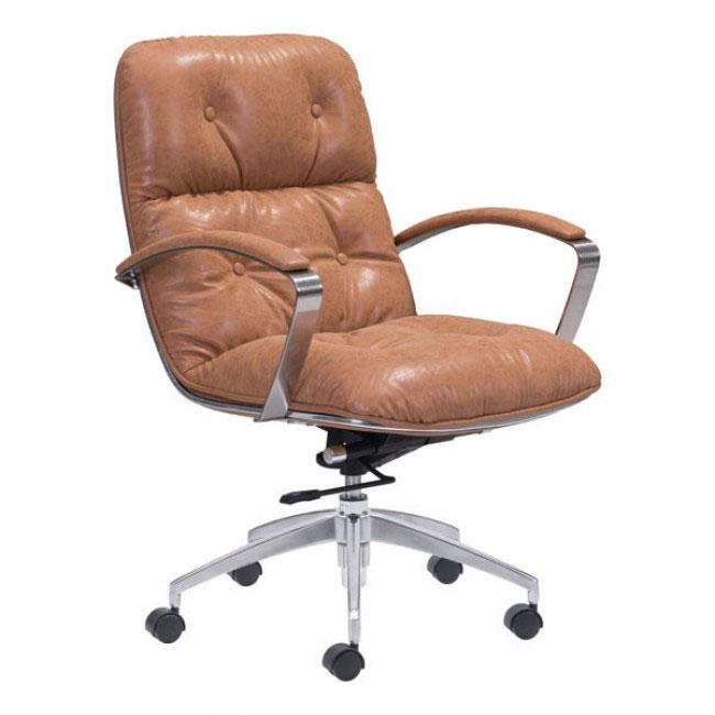 vault office chair tan 1