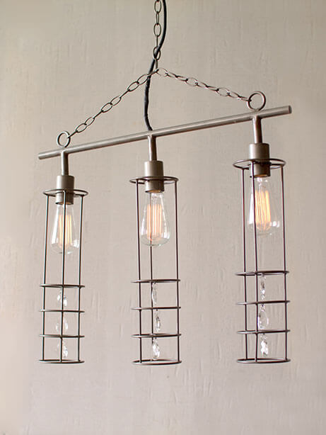 3 Tier Edison Long Chandelier