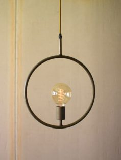 Metal Circle Pendant Light 237x315