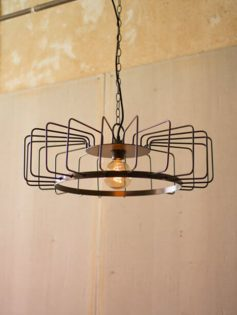 Round Wire Pendant Light 237x315