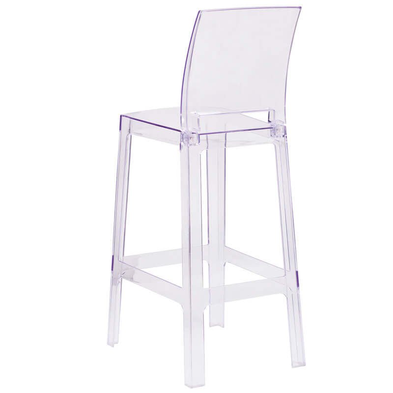 clear square barstool 3