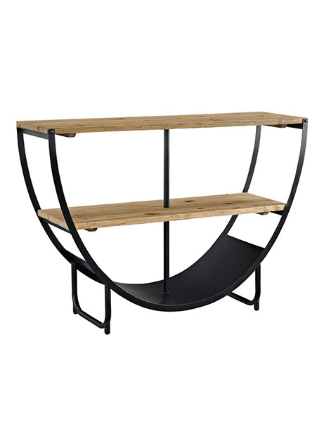 Cirque Wood Console Table