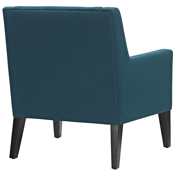 Den upholstered accent chair blue 3