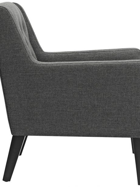 Den upholstered accent chair gray 2 461x614