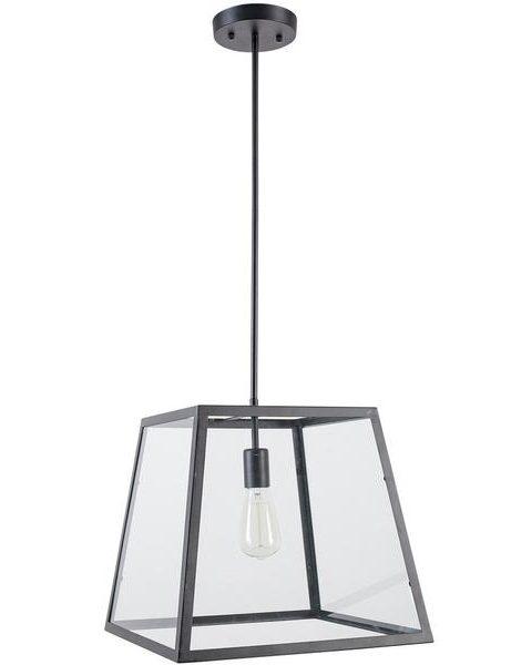 Glass box large pendant light 1 461x600