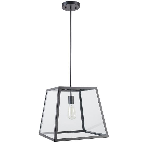 Glass box large pendant light 1