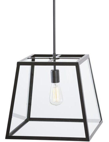 Glass box large pendant light 2 461x600