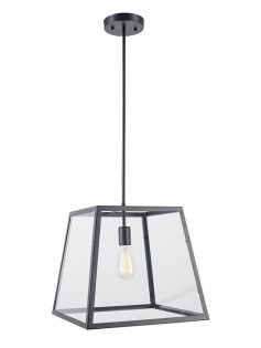 Glass box large pendant light 237x315