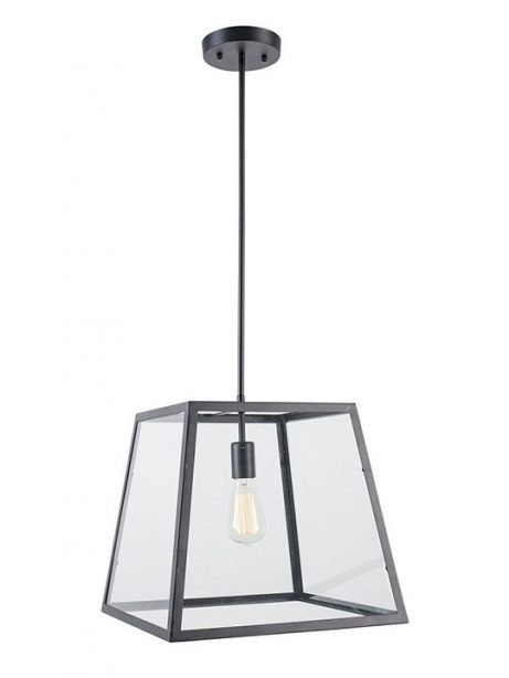 Glass box large pendant light 461x614