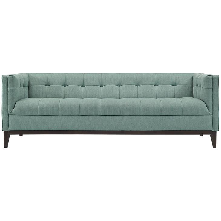 Lark Fabric Sofa mint green 3