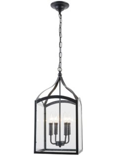 Opera Glass Box Pendant Light 237x315