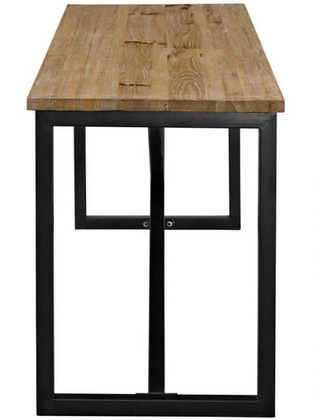 Reclaimed wood large console table 1 461x614