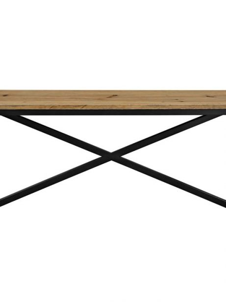 Reclaimed wood large console table 2 461x614
