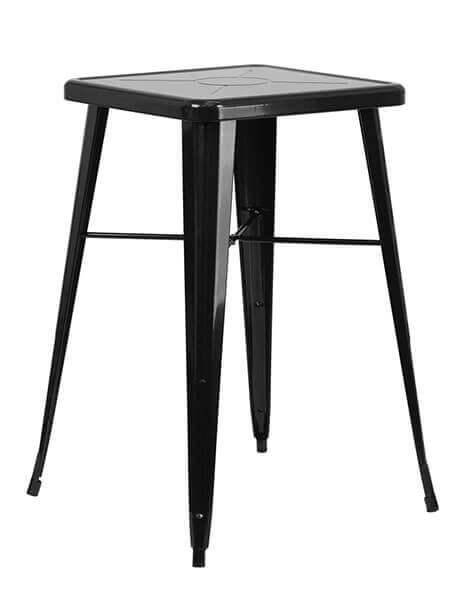 Tonic Square Bar Table 23 Table Black 1